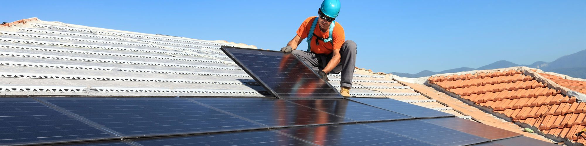 WE INSTALL SOLAR PANELS FOR BOTH DOMESTIC & COMMERCIAL CLIENTS
